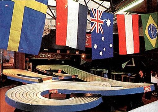 La blue-King des World's Slot racing 1987 de Toulouse