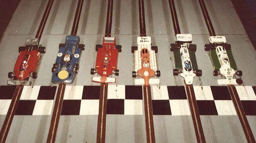 Formule 1 série 4 Isle 1984