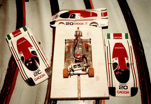 Classée 2 nde la Porsche 956 de Liège