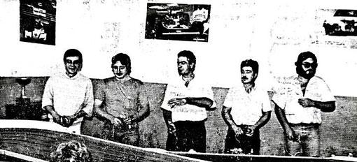 non identifié - José-Luis Peña - Marino San José - Antonio Ortega - Miguel Pascual-Laborda