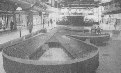 La piste Hasse Nilsson du championnat du monde de slot racing 1978