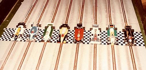 Les t'autos de la finale F 1 du GP de Thoiry 1985