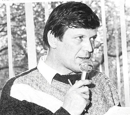 Hans Van Es est le directeur de course pour la Daytona Continental 2000
