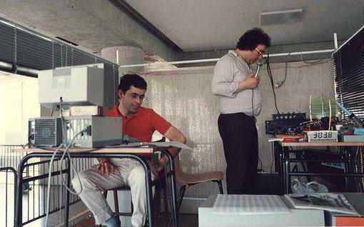 Alain Lefebvre et Marc Joyeux  les directeurs de course
