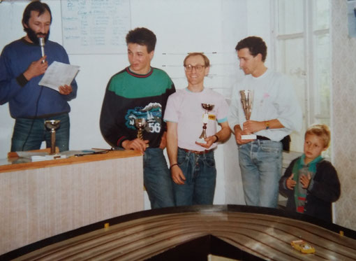 Slot racing 1/32. Coupe de France 1986