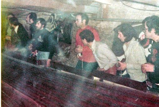 Slot racing 1978 Château-Gontier. Gil Michel 4. Jean-Pierre Sutter 5.  Jean-Pierre Chesne 8.