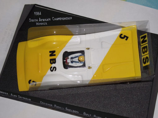Slot-car d' Alan Seymour en 1984