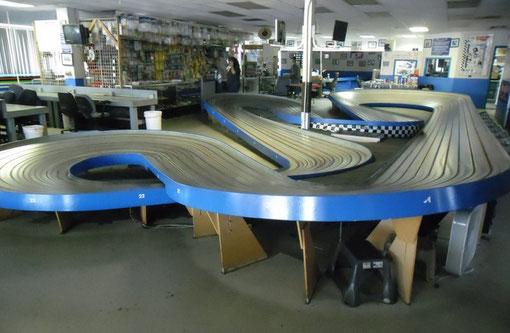 Buena Park Raceway Blue King du record de 1.404 ( photos Christophe Peix )