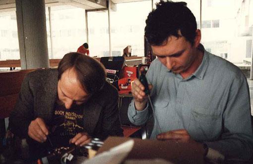 Csaba Szekelyhidi  et Willy Heerwegh