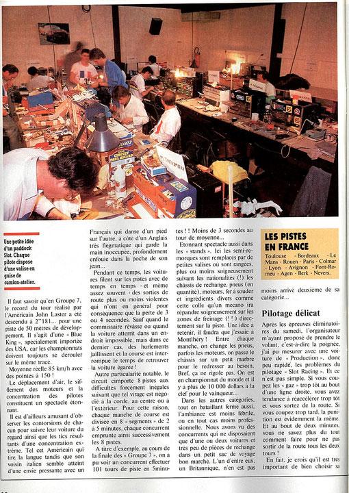 Article AutoHebdo 606 page 22 de Jean-Pierre Malcher
