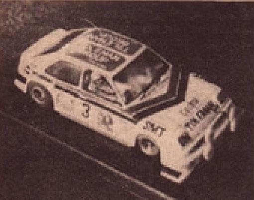 Chevrolet Chevette premier au concours d'élégance pour Alan Manton
