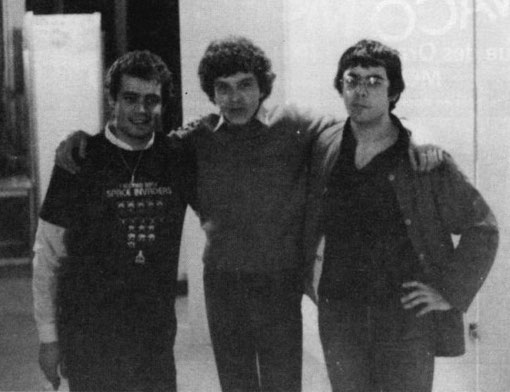 Podium du 23 novembre 1981, ESRAC Créteil :  Philippe Thibault ( 3 ) Claude Willette ( 1 ) Alain Lefebvre ( 2
