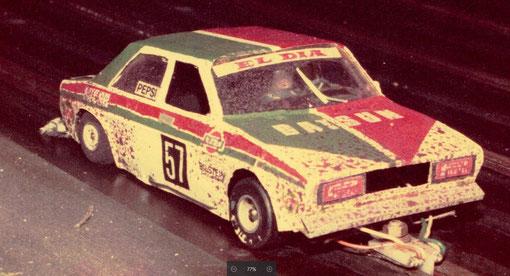 Datsun slot-car