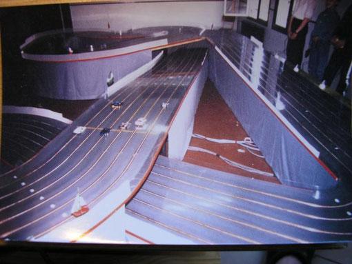 Barentin . 6 voies en 1988