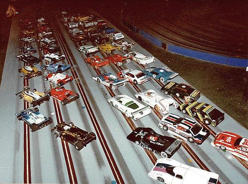 Partie du plateau du championnat de France 1983 à l'Isle sur Sorgue.
