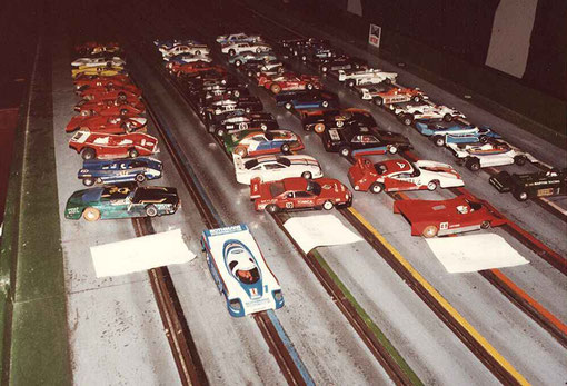 Slot-cars du Grand Prix de Thoiry 1984