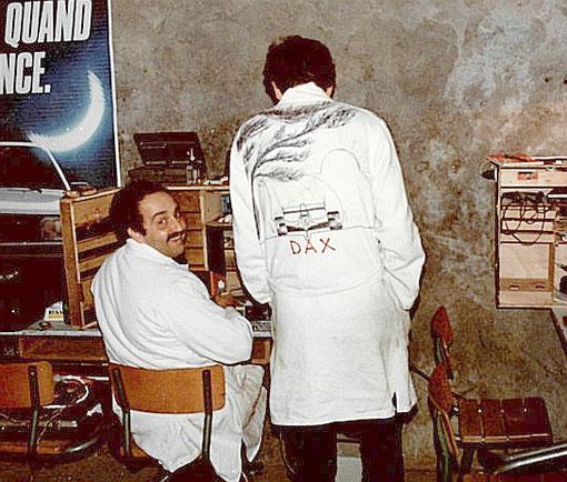 Stands. Jean-Claude Ehinger & Gérard Caupène