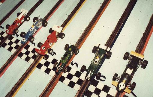 Monoplaces1/32 années  '70