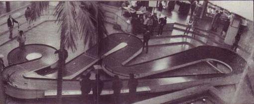 8 voies Blue-King de Créteil au centre commercial Créteil Soleil en octobre 1982  ( Piste Hasse Nilsson )