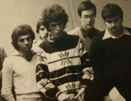 Marco Bellini vainqueur du Grand Prix de Gènes 1978
