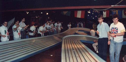 Série sur la Blue-King. Toulouse 1987.