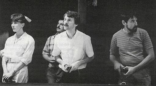 Corrina Gianotti, Christophe Peix, Henry Roufosse, Francis Cathenis.