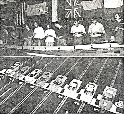 Série Production au Grand Prix de slot racing de Belgique 1986