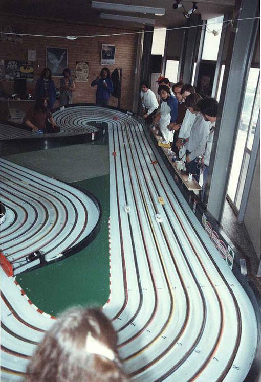 Départ lancé des 24 heures de Bordeaux 1983