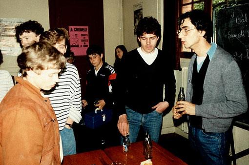 Alain Clastres, Hubert Tixier, Karine Bucquet, Denis Tricot, William Inghebrecht, Jean-Claude Malherbe