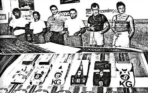 Sport: Sergio Maresca, Michele Scarpato, Giuseppe Rudilosso, Paolo Trigilio, Angelo Magnani, Maura Magnani.