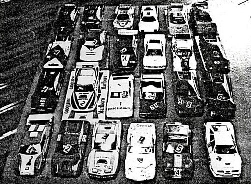 T'autos PRODUCTION, parc fermé
