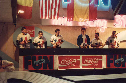 Pierre Engels (F) Pietro Razzano (I) Laurent Cardin (F) Olivier Demoget (F) Jean-Claude Ehinger (F) Paolo Trigilio (I)