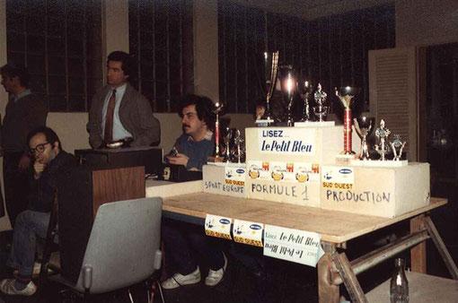 Les trophées du grand prix d'Agen 1985