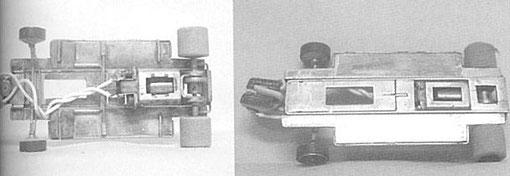 Le châssis ( allégé au centre ) F 1 de Derek Cooper vainqueur 1985 Main Grade en Grand Prix