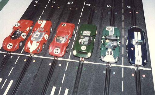 Six voitures à Anvers pour Daytona
