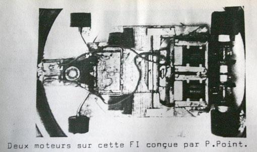 Le châssis PP x 2 trans / double moteurs Philippe Point