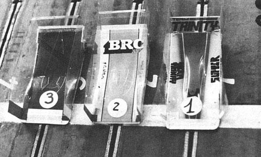 Résultats des essais qualifiquatifs : 3 Alain Lefebvre, 2 Claude Willette, pole position Jean-Pierre Sutter