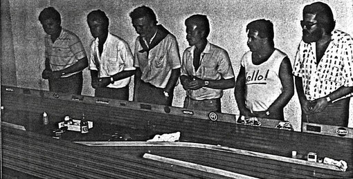 Josep M. Armengol, Marino San José, Maximo Sant, Francisco Mateo, Leandro Rey, Miguel Pascual-Laborda