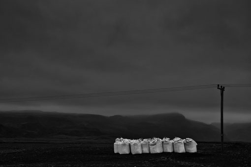 Die Asche des Eyjafjallajökull