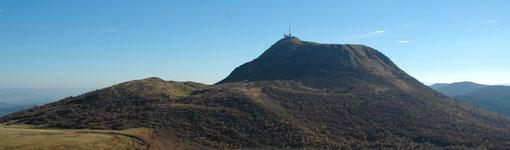 Puy de Dôme volcan pierre de lave