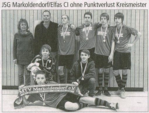 Mit dabei Arne Pape vom SV Amelsen