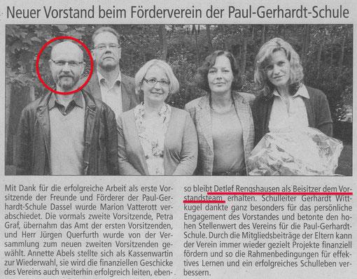 ...ein Klein-Gallischer Maulwurf bleibt dem PGS-Förderverein erhalten !!!!