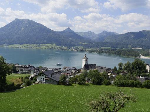 Wolfgangsee/Österreich Salzkammergut