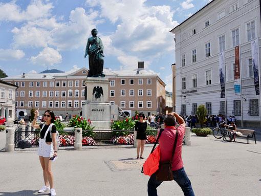 Salzburg Mozartplatz