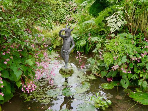 GartenReise Italien  , Andre Heller Garten Gardaseel Gardasee Italien