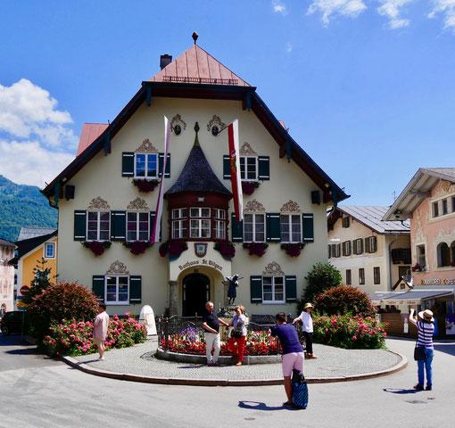 Rathaus St. Gilgen Wolfgangsee/Österreich