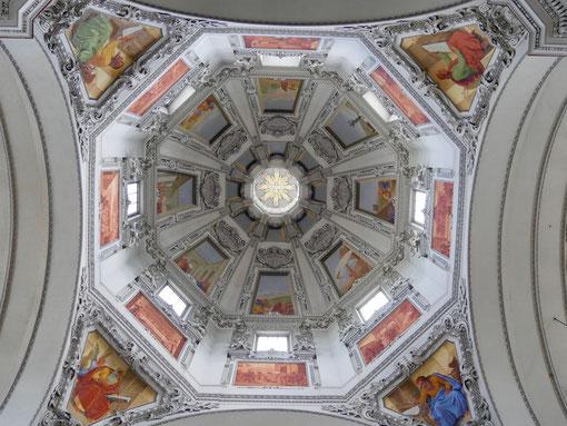 Die Kuppel im Salzburger Dom