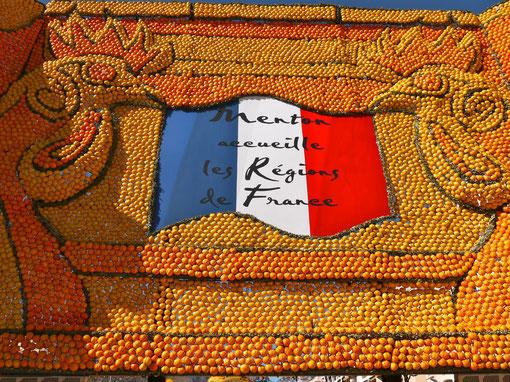 Frankreich Cote d´ Azur Menton