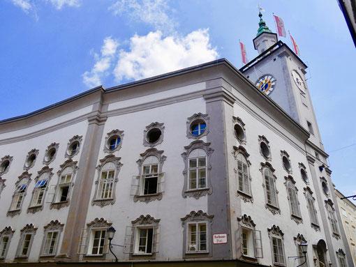 Das alte Rathaus von Salzburg