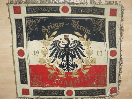 Schrift: Kriegerverein Ellingstedt 1901